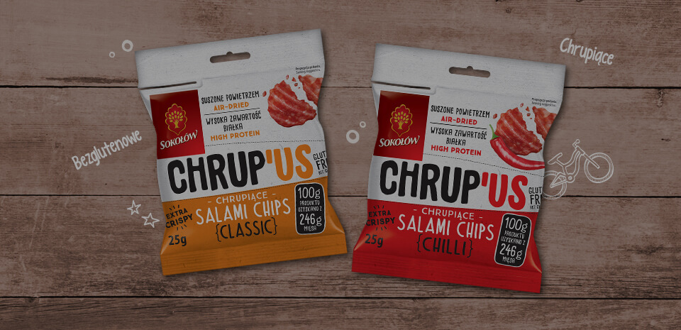 CHRUP 'US Salami Chips