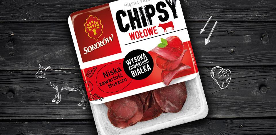 Chipsy wołowe 40g