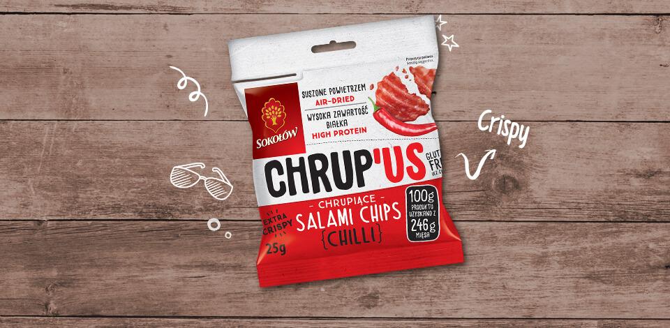 CHRUP 'US - SALAMI CHIPS CHILLI