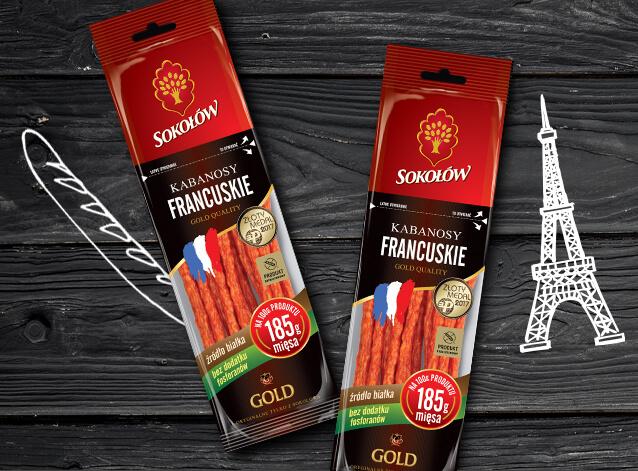 Kabanosy francuskie