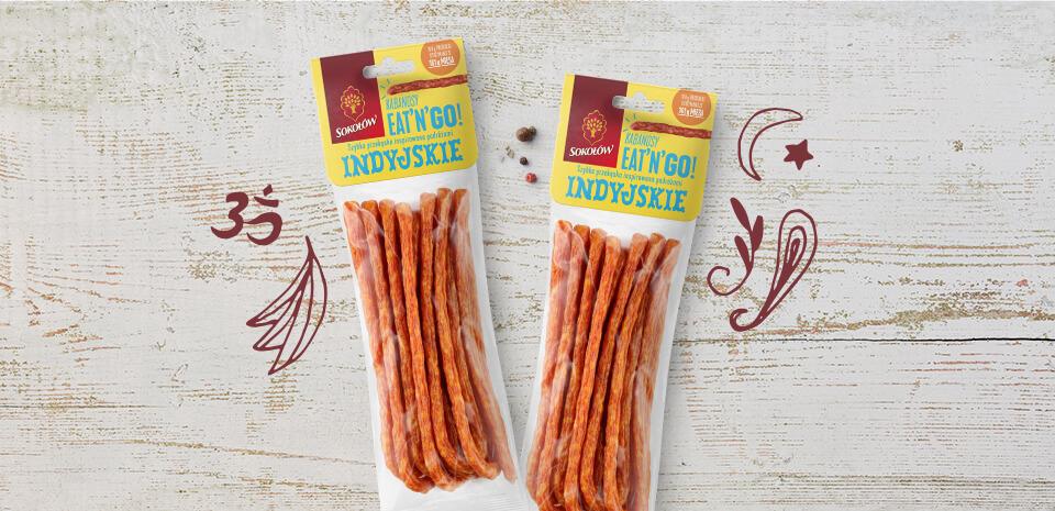 Indian kabanos sausages