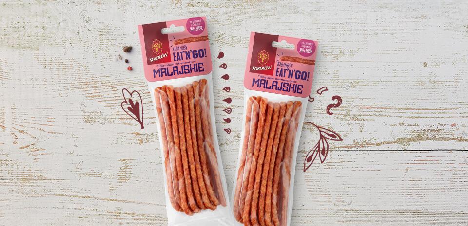 Malay kabanos sausages