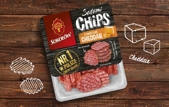 Salami chips ser cheddar 60 g