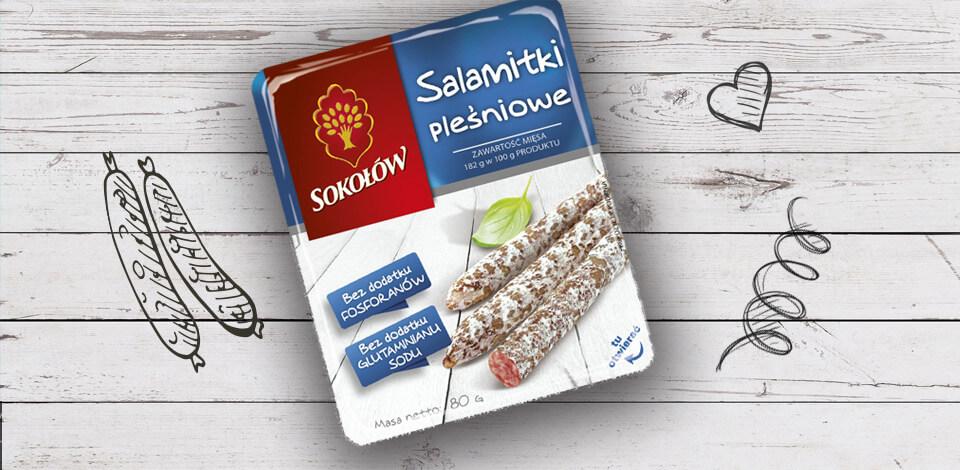 Salamitki Moulded 80g