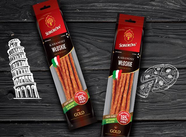 Kabanosy włoskie